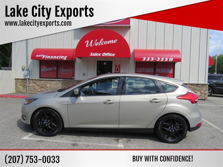 Used Ford Focus SE 4dr Hatchback 2016 | Lake City Exports Inc. Auburn, Maine