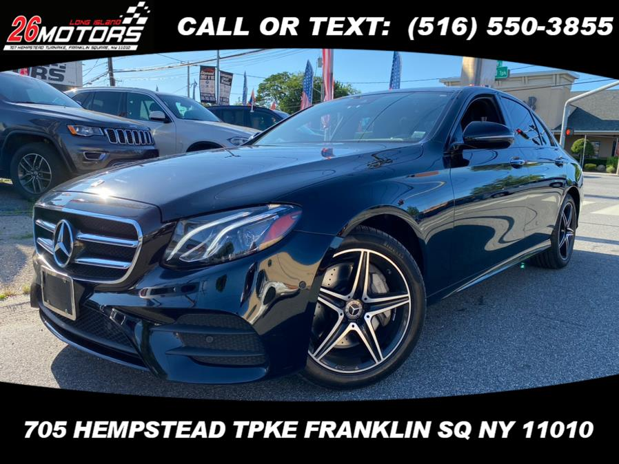 Used Mercedes-Benz E-Class ///AMG Package E 300 4MATIC Sedan 2018 | Hempstead Auto Outlet Inc. DBA 26 Motors Long Isla. Franklin Sq, New York