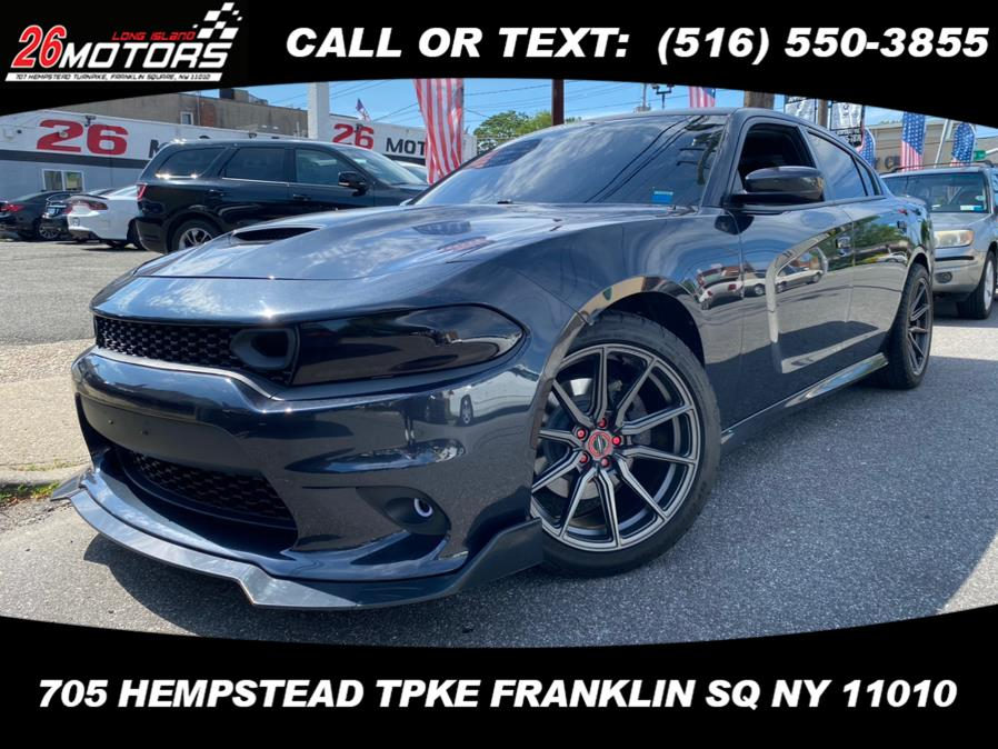 Used Dodge Charger RT R/T RWD 2018   Hempstead Auto Outlet Inc. DBA 26 Motors Long Isla. Franklin Sq, New York