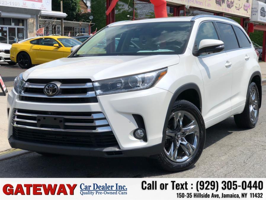Used Toyota Highlander Limited V6 AWD (Natl) 2018 | Gateway Car Dealer Inc. Jamaica, New York