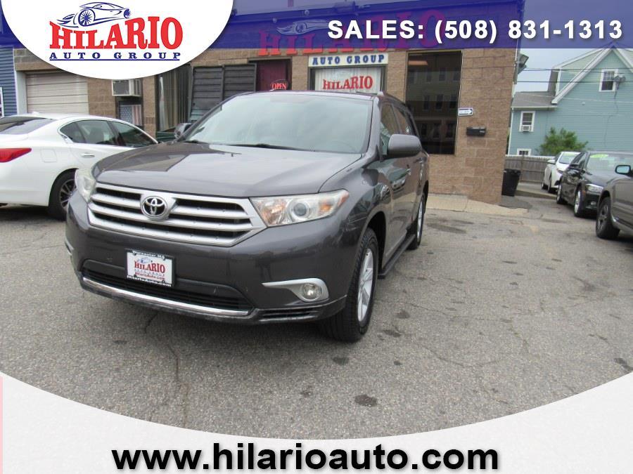 Used 2013 Toyota Highlander in Worcester, Massachusetts   Hilario's Auto Sales Inc.. Worcester, Massachusetts