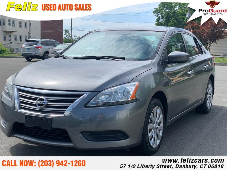 Used 2015 Nissan Sentra in Danbury, Connecticut | Feliz Used Auto Sales. Danbury, Connecticut