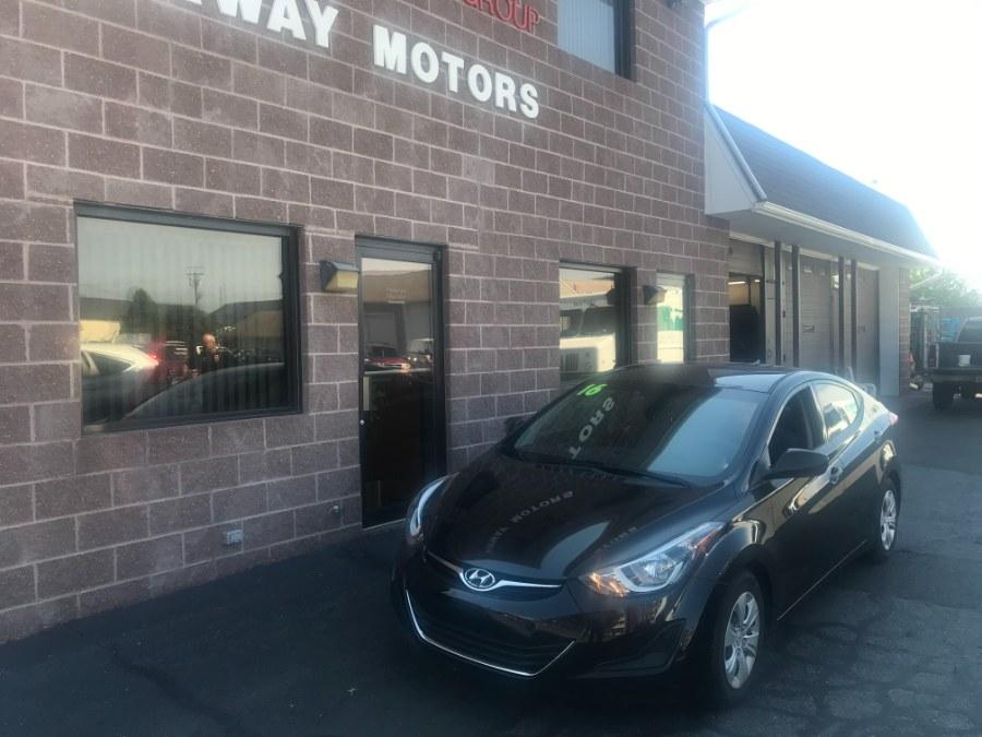 Used Hyundai Elantra 4dr Sdn Auto Value Edition (Alabama Plant) 2016 | Airway Motors. Bridgeport, Connecticut
