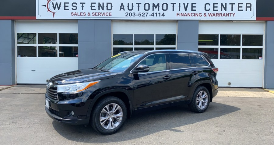 Used 2015 Toyota Highlander in Waterbury, Connecticut | West End Automotive Center. Waterbury, Connecticut