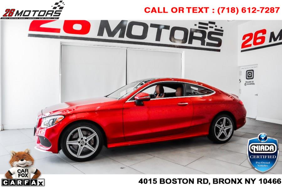 Used Mercedes-Benz C-Class C 300 4MATIC Coupe 2018 | 26 Motors Corp. Bronx, New York