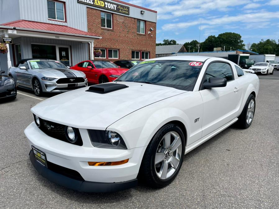 Used Ford Mustang 2dr Cpe GT Deluxe 2006   Mike And Tony Auto Sales, Inc. South Windsor, Connecticut