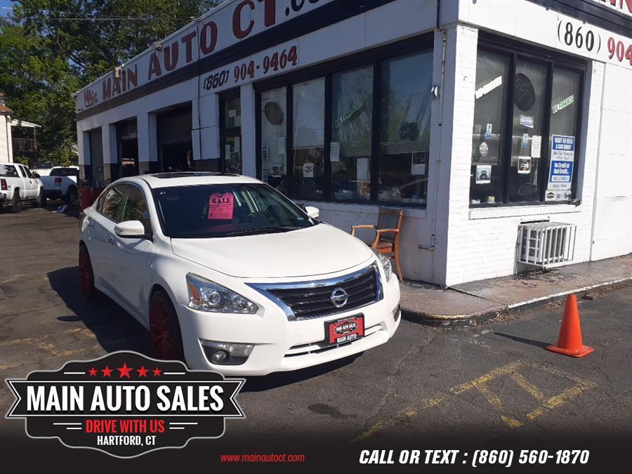 Used Nissan Altima 4dr Sdn I4 2.5 S 2014   Main Auto Sales LLC. Hartford, Connecticut