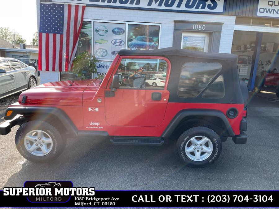 Used 2005 JEEP WRANGLER X in Milford, Connecticut | Superior Motors LLC. Milford, Connecticut