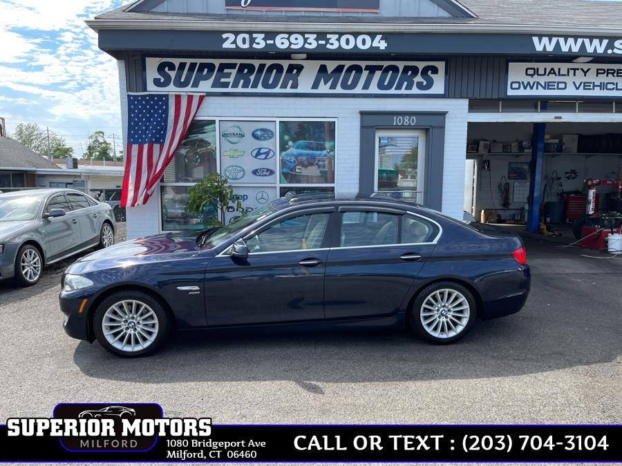 Used 2011 BMW 5 SERIES LUXURY XDRIVE in Milford, Connecticut | Superior Motors LLC. Milford, Connecticut