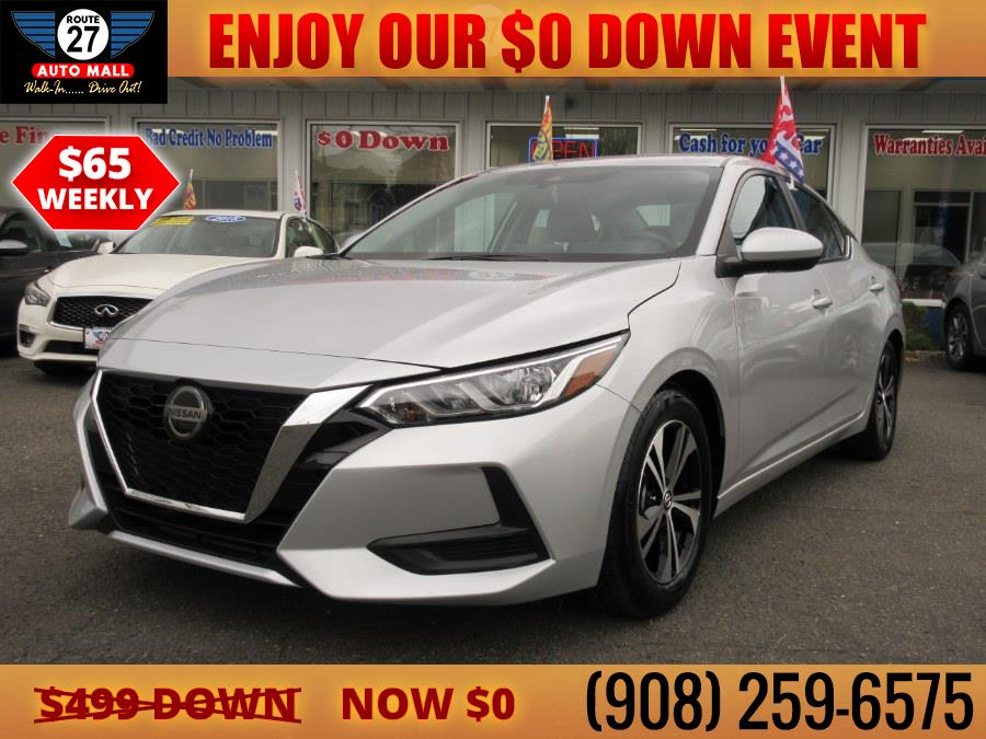 Used 2021 Nissan Sentra in Linden, New Jersey   Route 27 Auto Mall. Linden, New Jersey