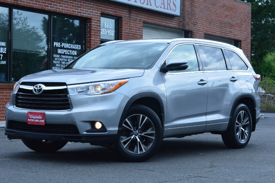Used 2016 Toyota Highlander in ENFIELD, Connecticut | Longmeadow Motor Cars. ENFIELD, Connecticut
