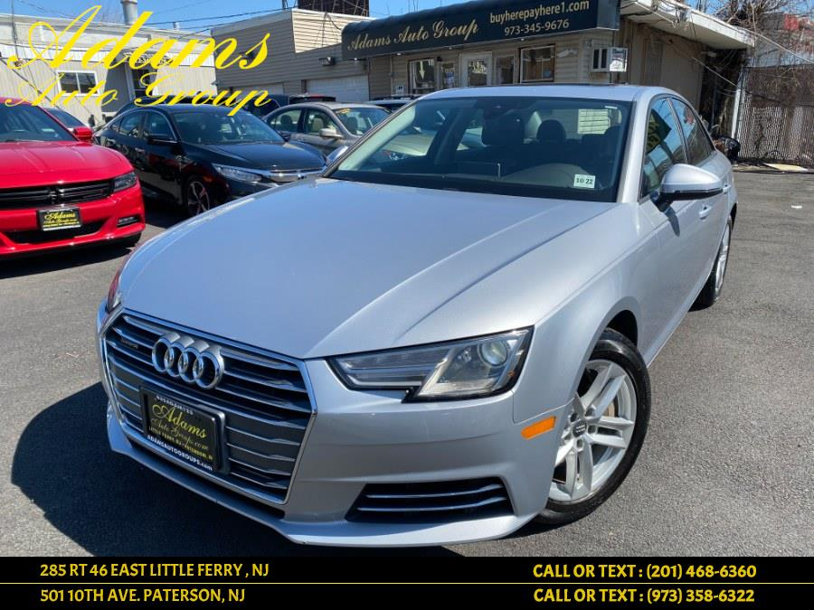 Used 2017 Audi A4 in Paterson, New Jersey | Adams Auto Group. Paterson, New Jersey