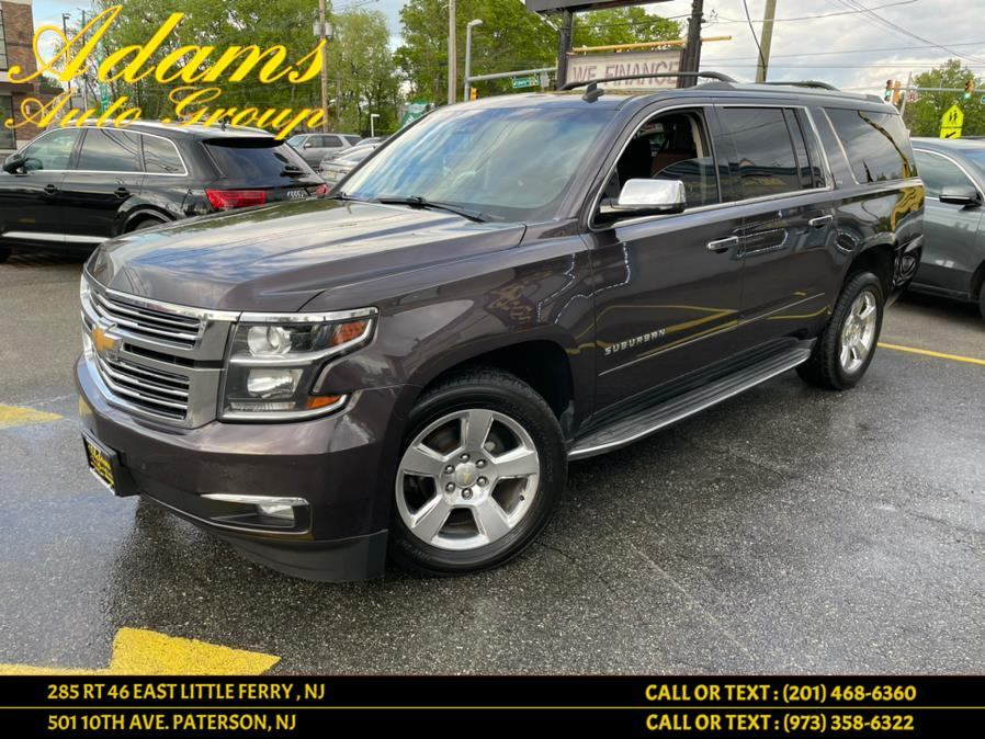 Used 2015 Chevrolet Suburban in Little Ferry , New Jersey | Adams Auto Group . Little Ferry , New Jersey