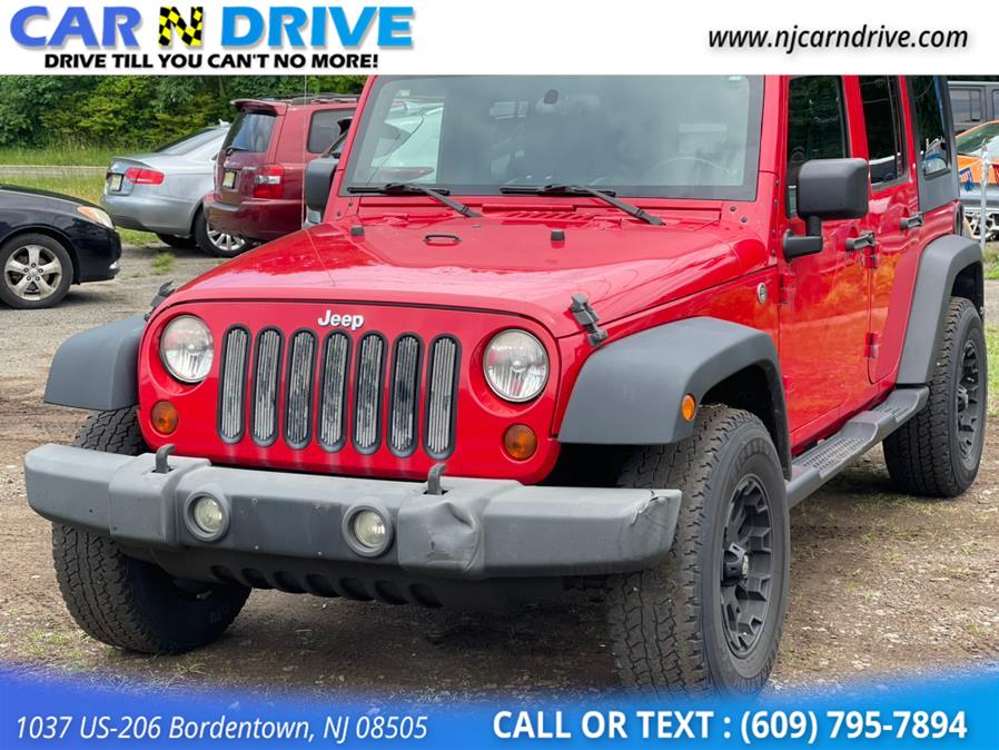 Used Jeep Wrangler Unlimited X 4WD 2009 | Car N Drive. Bordentown, New Jersey