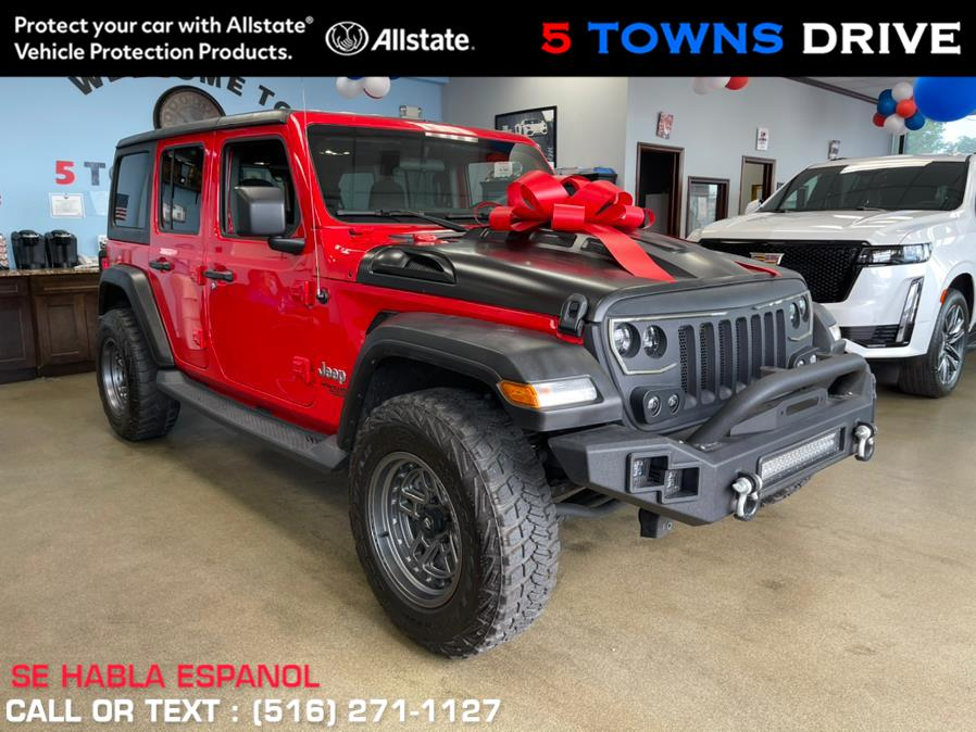 Used Jeep Wrangler Unlimited Sport S 4x4 2019 | 5 Towns Drive. Inwood, New York