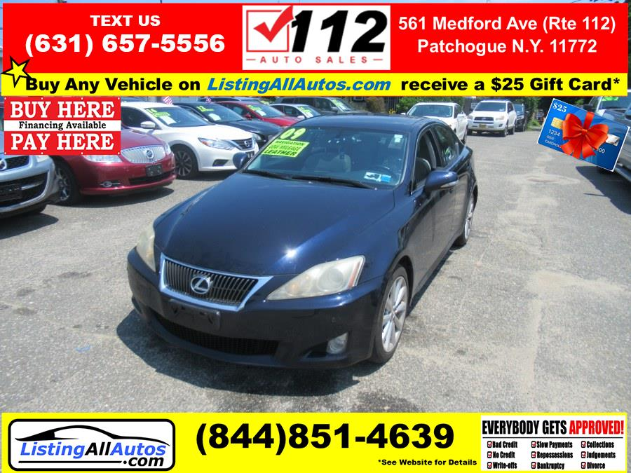 Used 2009 Lexus IS 250 in Patchogue, New York   www.ListingAllAutos.com. Patchogue, New York