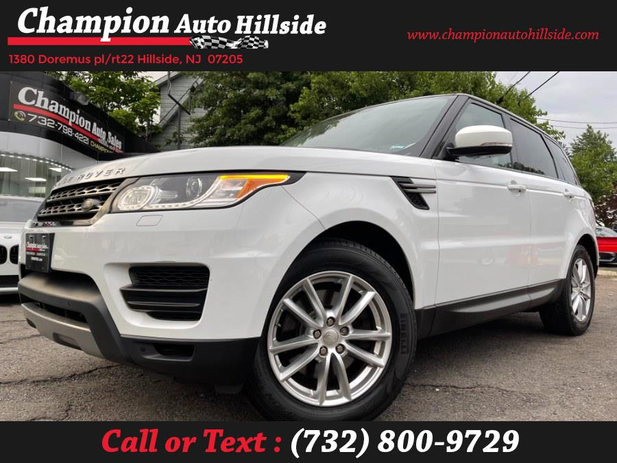 Used 2015 Land Rover Range Rover Sport in Hillside, New Jersey | Champion Auto Sales. Hillside, New Jersey