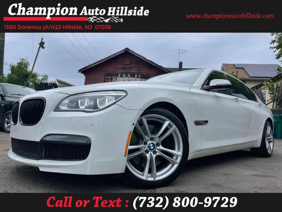 Used 2013 BMW 7 Series in Hillside, New Jersey | Champion Auto Sales. Hillside, New Jersey