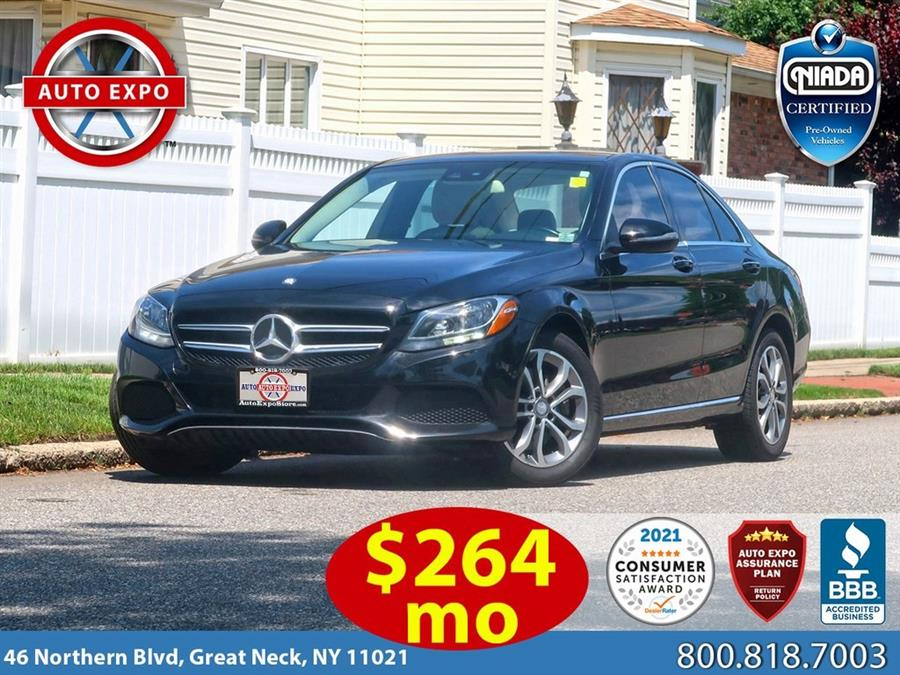 Used 2016 Mercedes-benz C-class in Great Neck, New York | Auto Expo Ent Inc.. Great Neck, New York