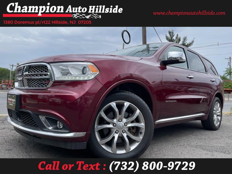 Used 2017 Dodge Durango in Hillside, New Jersey | Champion Auto Hillside. Hillside, New Jersey