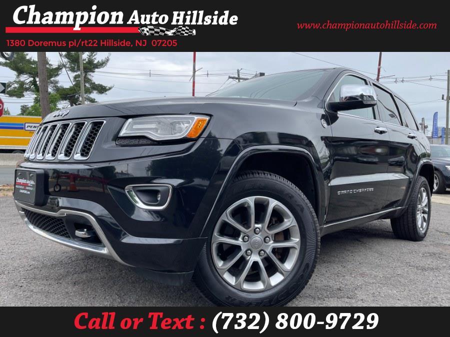 Used 2015 Jeep Grand Cherokee in Hillside, New Jersey | Champion Auto Hillside. Hillside, New Jersey