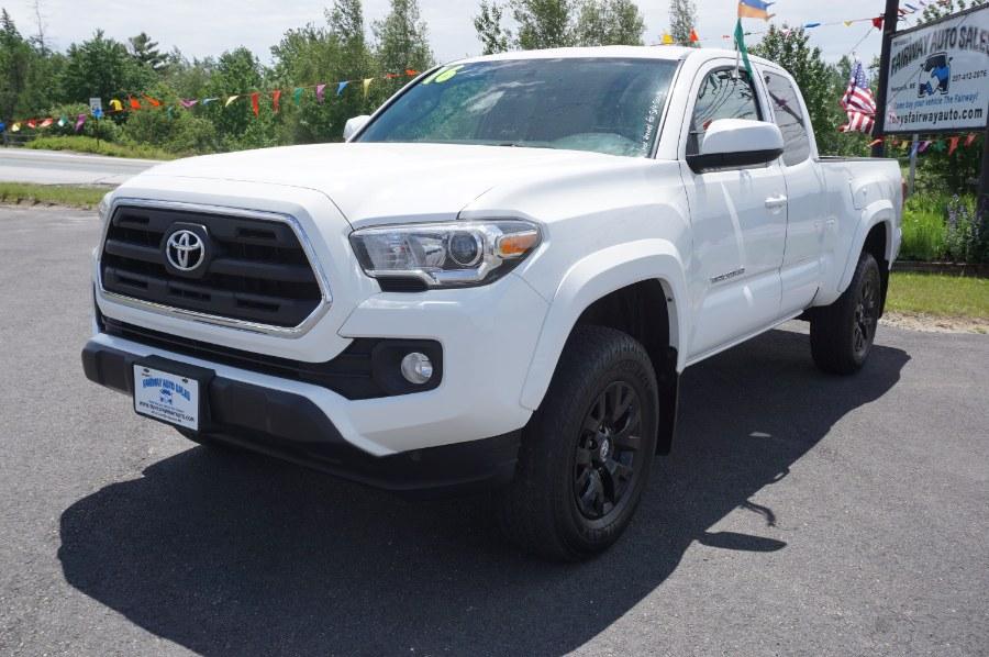 Used Toyota Tacoma 4WD Access Cab I4 AT SR5 (Natl) 2016 | Fairway Auto Sales. Hancock, Maine
