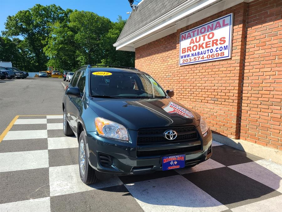 Used Toyota RAV4 FWD 4dr 2012 | National Auto Brokers, Inc.. Waterbury, Connecticut