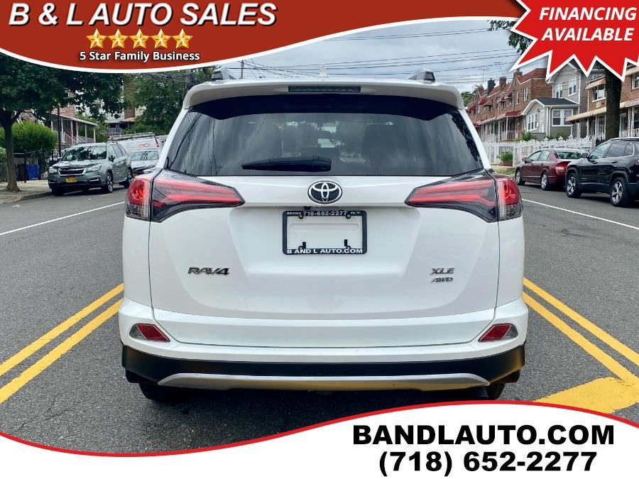 Used Toyota RAV4 AWD 4dr XLE 2016 | B & L Auto Sales LLC. Bronx, New York