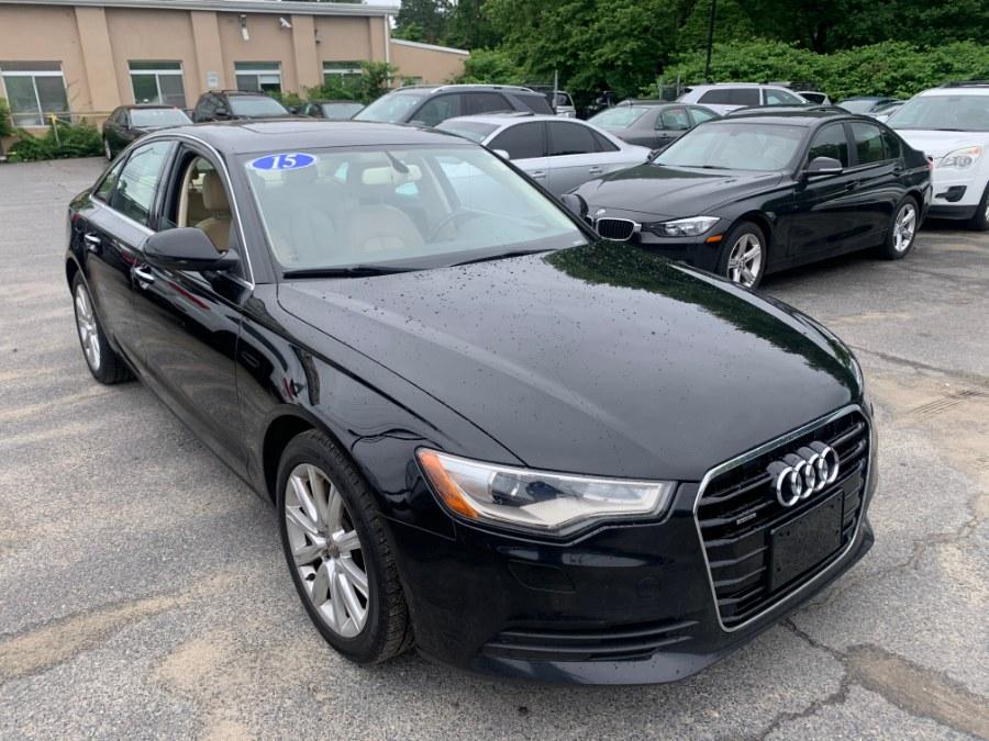 Used 2015 Audi A6 in Raynham, Massachusetts | J & A Auto Center. Raynham, Massachusetts