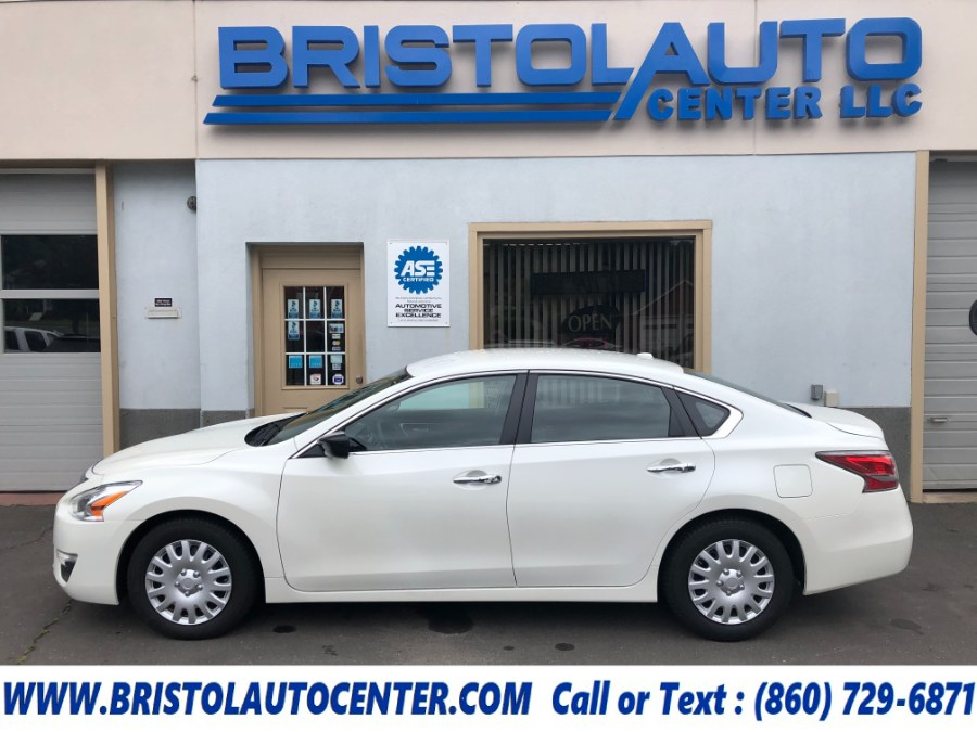 Used 2015 Nissan Altima in Bristol, Connecticut   Bristol Auto Center LLC. Bristol, Connecticut