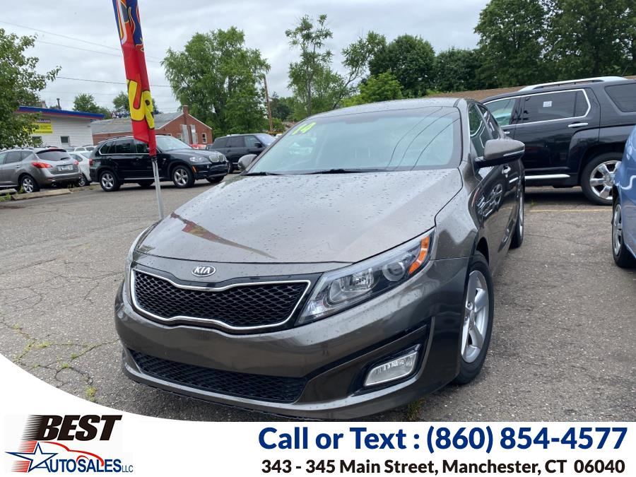 Used 2014 Kia Optima in Manchester, Connecticut   Best Auto Sales LLC. Manchester, Connecticut