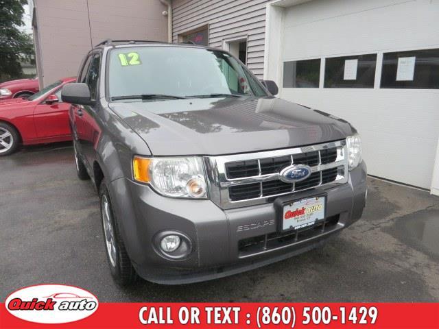 Used 2012 Ford Escape in Bristol, Connecticut | Quick Auto LLC. Bristol, Connecticut
