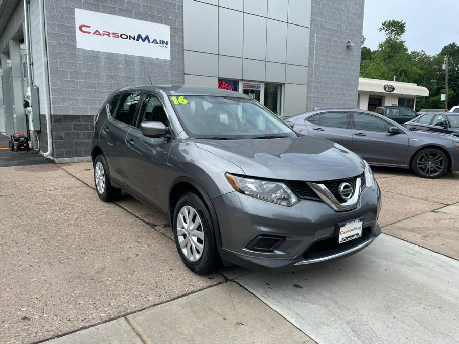 Used Nissan Rogue AWD 4dr S 2016   Carsonmain LLC. Manchester, Connecticut
