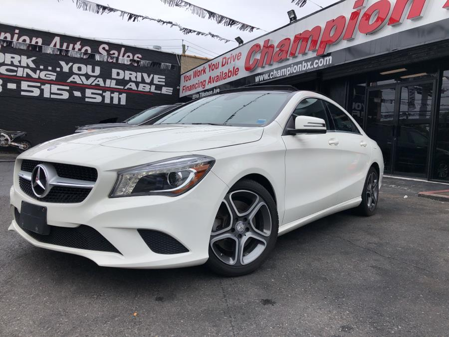 Used Mercedes-Benz CLA-Class 4dr Sdn CLA250 4MATIC 2014 | Champion Auto Sales Of The Bronx. Bronx, New York