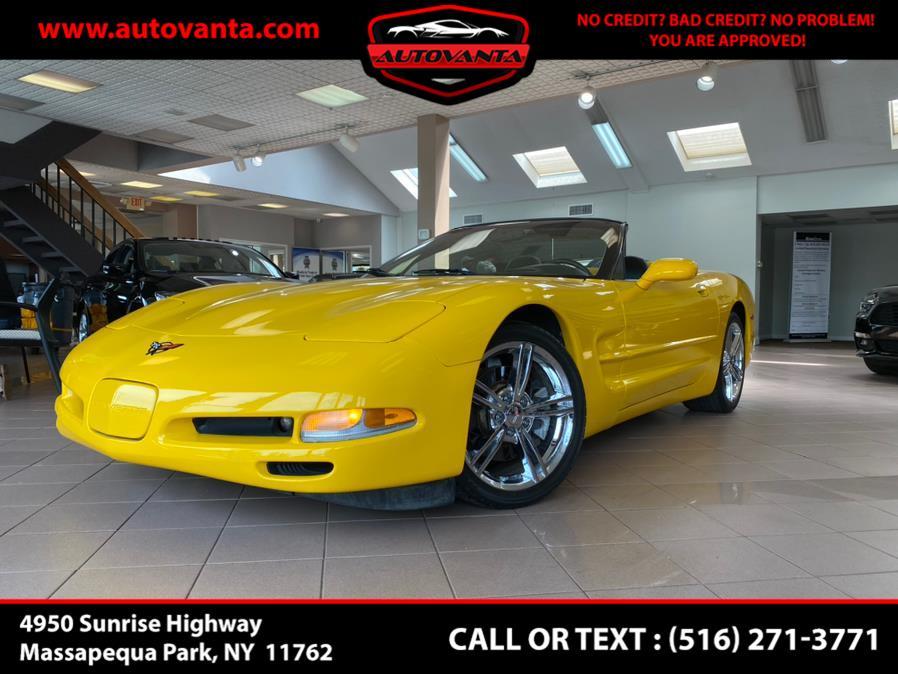 Used 2002 Chevrolet Corvette in Massapequa Park, New York   Autovanta. Massapequa Park, New York