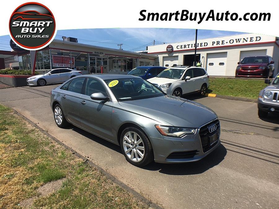 Used Audi A6 4dr Sdn quattro 3.0T Premium Plus 2014 | Smart Buy Auto Sales, LLC. Wallingford, Connecticut