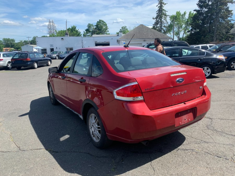 Used Ford Focus 4dr Sdn SE 2010   CT Car Co LLC. East Windsor, Connecticut