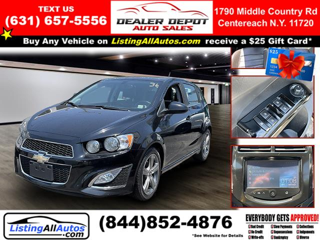 Used 2016 Chevrolet Sonic in Patchogue, New York   www.ListingAllAutos.com. Patchogue, New York