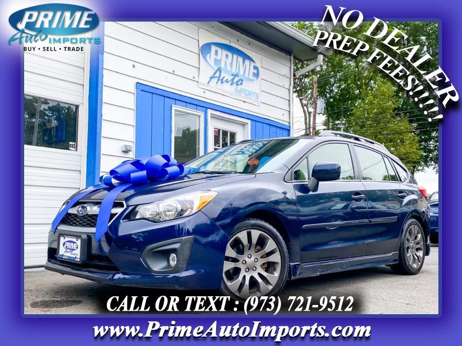 Used 2014 Subaru Impreza Wagon in Bloomingdale, New Jersey | Prime Auto Imports. Bloomingdale, New Jersey