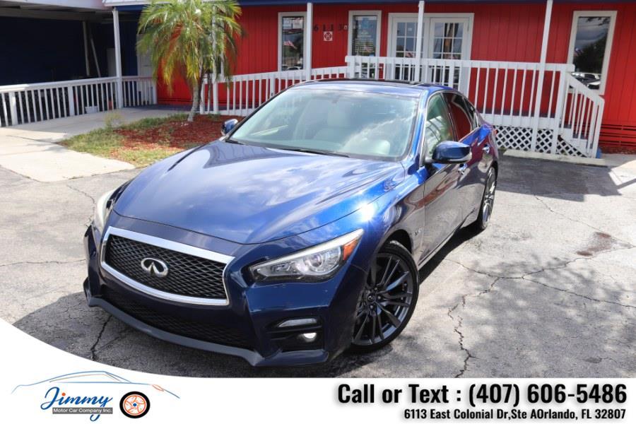 Used INFINITI Q50 4dr Sdn 3.0t Red Sport 400 RWD 2016   Jimmy Motor Car Company Inc. Orlando, Florida