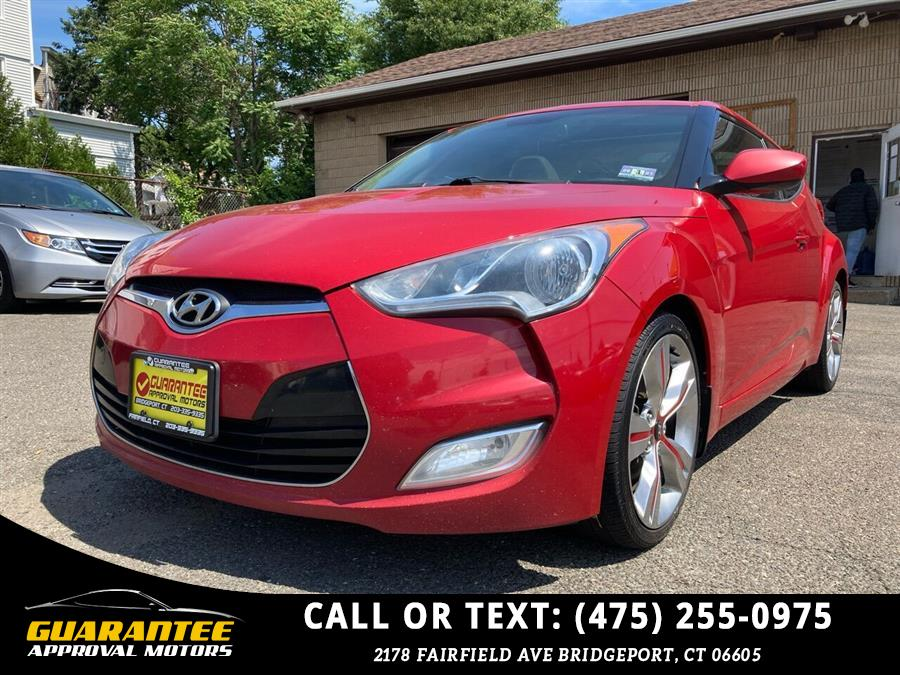 Used Hyundai Veloster Base 3dr Coupe DCT 2013   Guarantee Approval Motors. Bridgeport, Connecticut