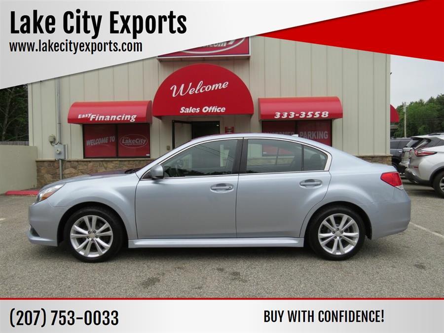 Used Subaru Legacy 2.5i Premium AWD 4dr Sedan 2014   Lake City Exports Inc. Auburn, Maine