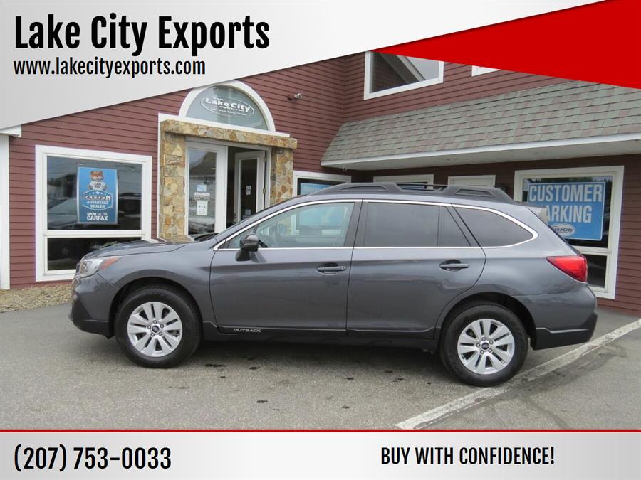 Used Subaru Outback 2.5i Premium AWD 4dr Wagon 2018 | Lake City Exports Inc. Auburn, Maine