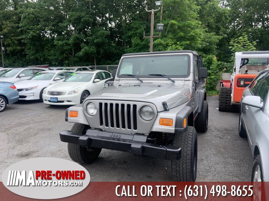 Used 2002 Jeep Wrangler in Huntington, New York | M & A Motors. Huntington, New York