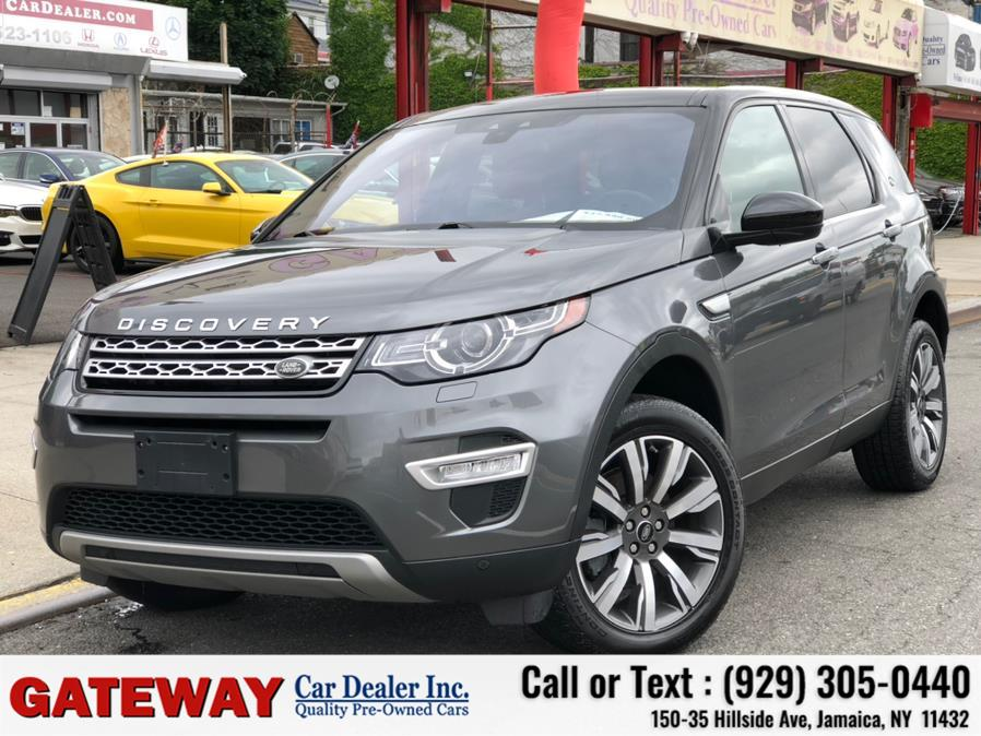 Used Land Rover Discovery Sport HSE Luxury 4WD 2018   Gateway Car Dealer Inc. Jamaica, New York