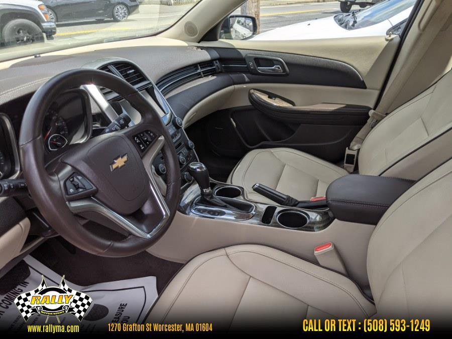Used Chevrolet Malibu 4dr Sdn LT w/2LT 2015 | Rally Motor Sports. Worcester, Massachusetts