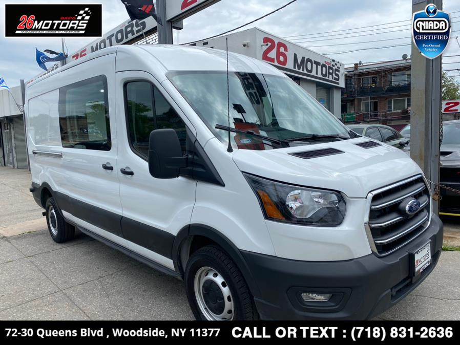 Used 2020 Ford Transit Cargo Van in Woodside, New York | 26 Motors Queens. Woodside, New York