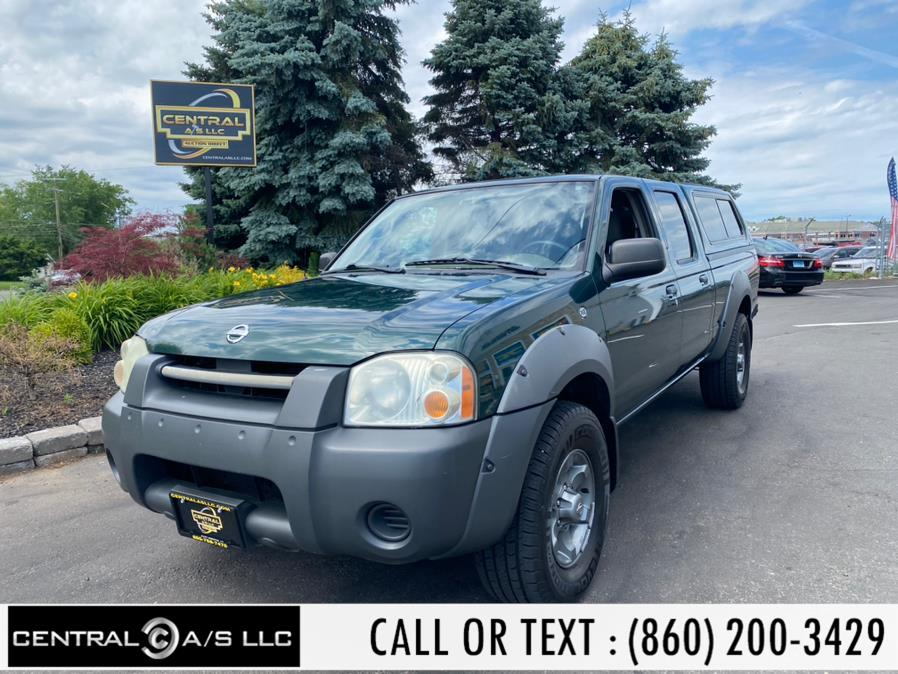Used Nissan Frontier 4WD XE Crew Cab V6 Manual Long Bed 2002 | Central A/S LLC. East Windsor, Connecticut