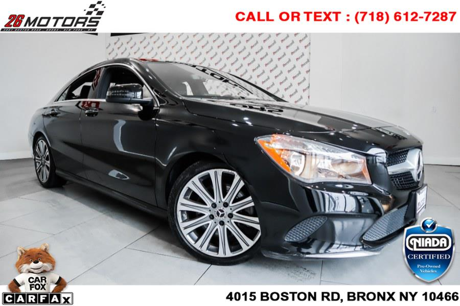 Used Mercedes-Benz CLA CLA 250 4MATIC Coupe 2018   26 Motors Corp. Bronx, New York