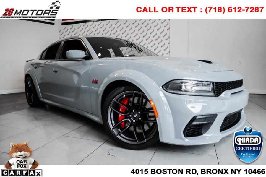 Used Dodge Charger Scat Pack Widebody RWD 2021   26 Motors Corp. Bronx, New York